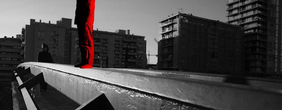 Photo: Al rojo mudo