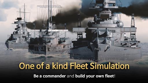 Code Triche Warship Fleet Command : WW2 Naval War Game mod apk screenshots 3