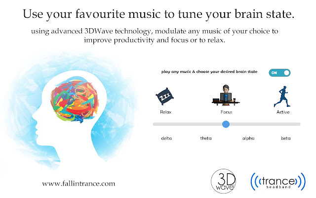 3DWave - Tune your brainwaves using any music