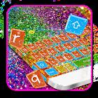 Colorful Glitter Keyboard Theme icon