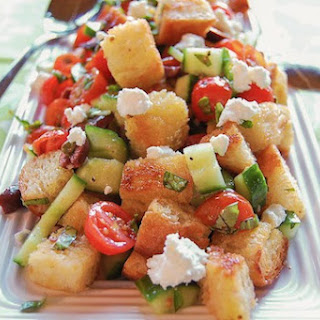 Panzanella Salad with Haystack Applewood Smoked ChèVre Recipe