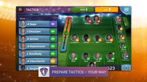 Women's Soccer Manager (WSM) - Football Management 1.0.41 screenshots 1