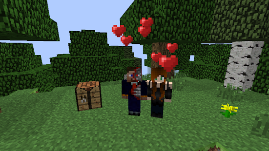 Love for Minecraft Addon - náhled