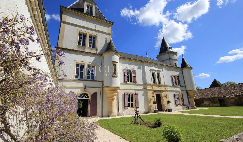 Castle Villeneuve-sur-Lot