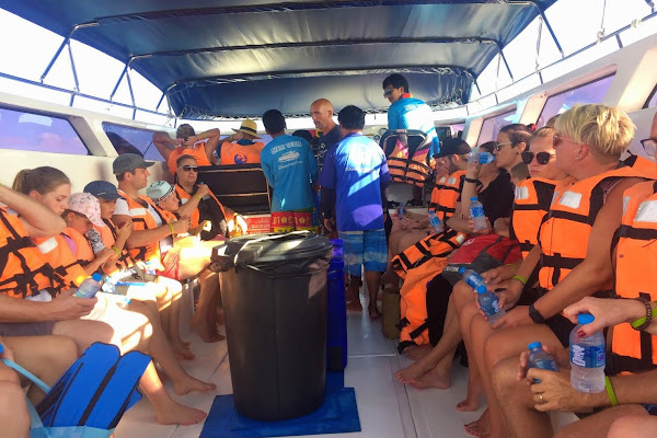 Cruise aboard the Siam Adventure speed boat to Surin Islands
