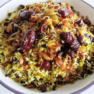 Lentil Rice • Adas Polo • عدس پلو Recipe