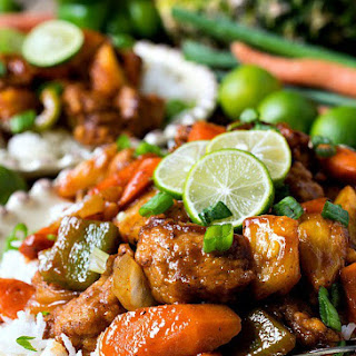 Sweet and Sour Key Lime Pork