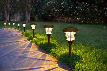 Image result for path lights