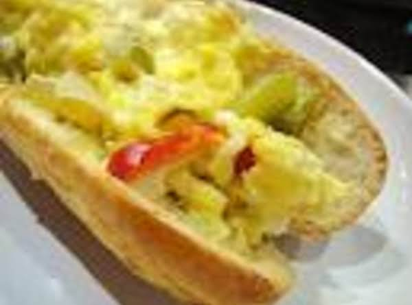 Pepper 'n Egg Hoagie Recipe