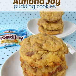 Almond Joy Pudding Cookies.