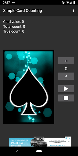 Simple Card Counting screenshot