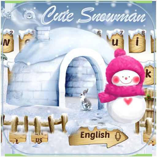 Cute Snowman Keyboard