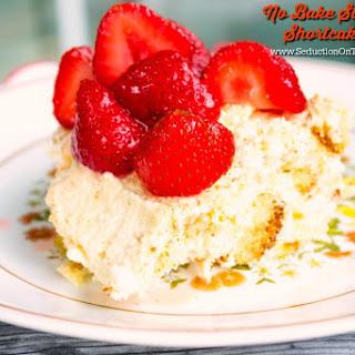 No Bake Strawberry Shortcake Bars