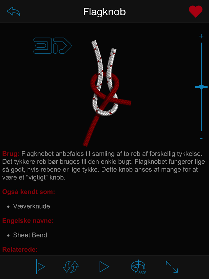 Knob og Stik 3D ( Knots 3D ) – screenshot