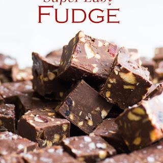 Super Easy Fudge Recipe