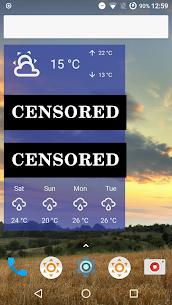 Fu*** Weather (Funny Weather) Apk 5