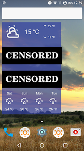 Fu*** Weather (Funny Weather) Screenshot