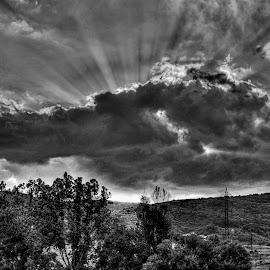 Dramatic by Dragan Nikolić - Black & White Landscapes