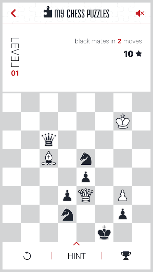 My Chess Puzzles- screenshot