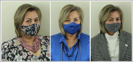 Mondmaskers op een stijlvolle manier