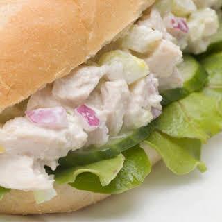 Classic Chicken Salad Sandwiches.