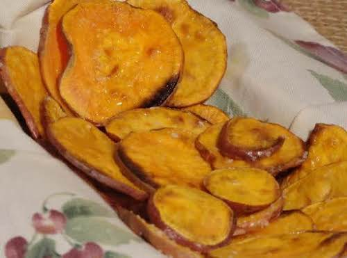 "Sweet Potato Chips With a Hint Of Lime ""It is that sweet..."