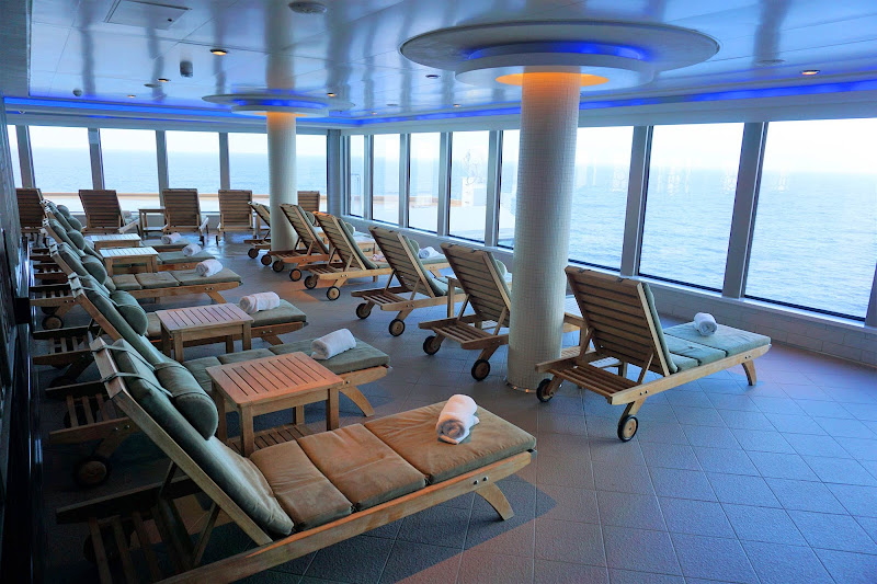 Savor rejuvenation and serenity in Norwegian Getaway's Spa Thermal Suite, the name for its 23,000-square-foot spa and fitness area.