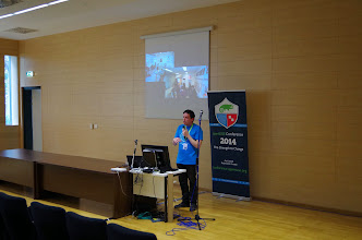 Photo: Promoting open source in universities and technical institutes, Dimitris Papapoulios