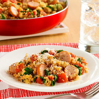 Italian Chicken Sausage and Quinoa Skillet
