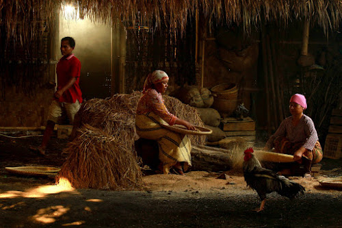Morning Activity in my Village by Baron Danardono Wibowo - People Family