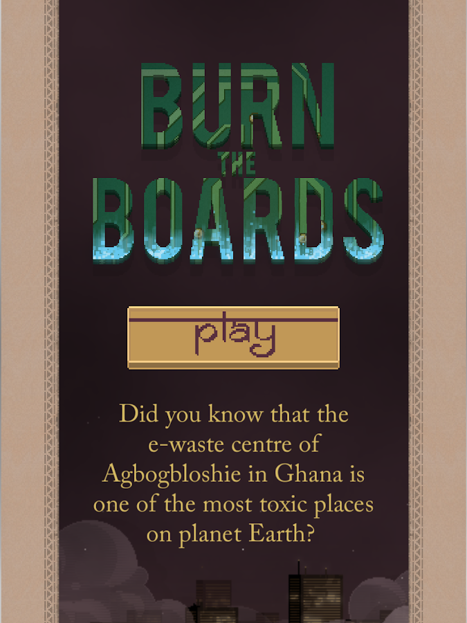 Burn The Boards- screenshot
