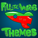 Find The Words - search puzzle with themes icon