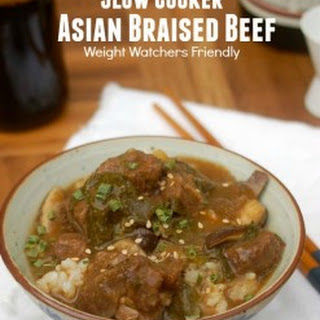 Weight Watchers Slow Cooker Asian Braised Beef.