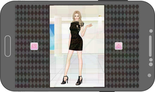無料教育Appのグラマラスなドレスアップ:イボンヌ。 記事Game