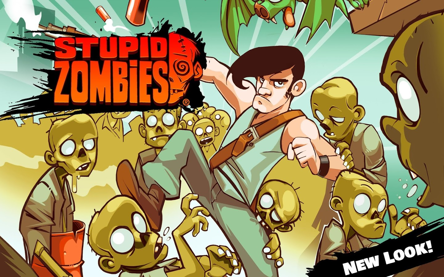 Stupid Zombies: captura de pantalla