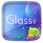 (FREE) GO SMS GLASS III THEME v1.1.8