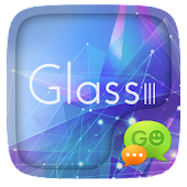 (FREE) GO SMS GLASS III THEME