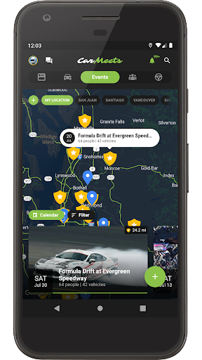 CarMeets - The Ultimate Car Enthusiast App 2.4 screenshots 1