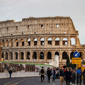 by William Stansbury - Buildings & Architecture Public & Historical ( rome, colosseum, ancient ruins, gladiator, arena, italy )