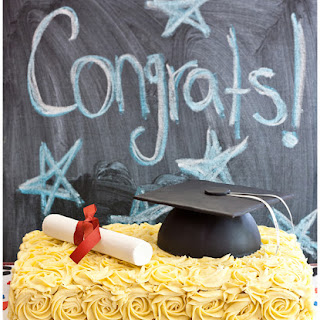 Graduation Hat Cake.