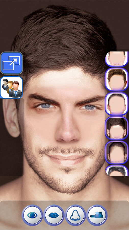 Real Makeup For Man Free- screenshot
