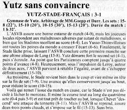 Photo: 06-05-96 ASVB - Stade Français 3-0