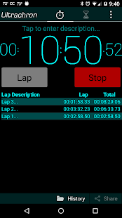 Ultrachron Stopwatch & Timer- screenshot thumbnail