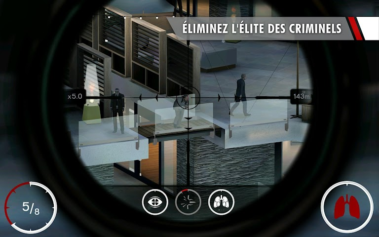 android Hitman: Sniper Screenshot 1