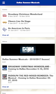 Dallas Summer Musicals- screenshot thumbnail