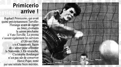 Photo: 20-06-97 Raphaël Primicerio, un renfort certain pour la future N3M
