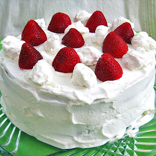 Harvest Moon Strawberry Cake