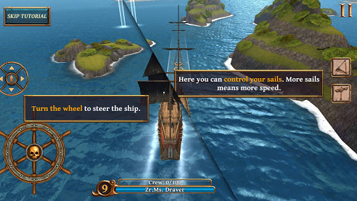 Ships of Battle Age of Pirates  captures d'u00e9cran 2
