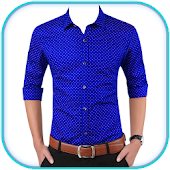 Man Formal Shirt Photo Suit Maker