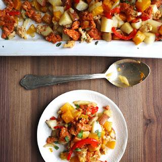 Chicken Sausage, Squash and Fennel Hash (GF, DF)